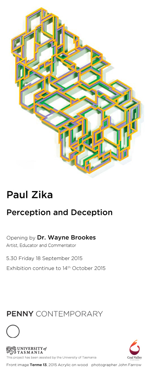 Perception and Deception - Paul Zika