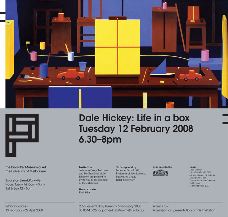 Dale Hickey - Life in a Box