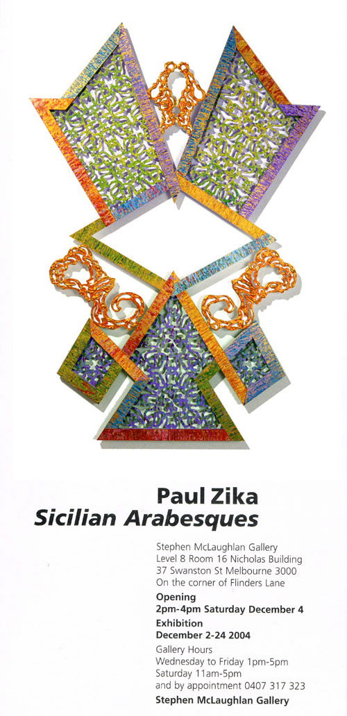 Sicilian Arabesques - Paul Zika